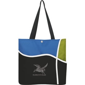 Custom Curl Tote Bag