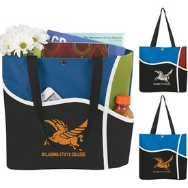 Personalized Curl Tote Bag