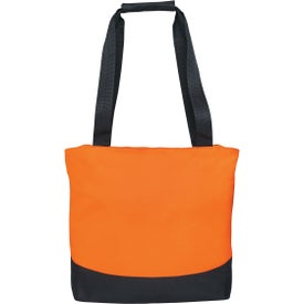Curve Tote Bag with Your Slogan