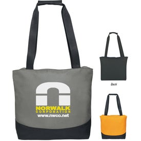 Personalized Curve Tote Bag