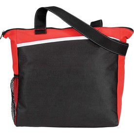 Curved Non Woven Tote for Advertising