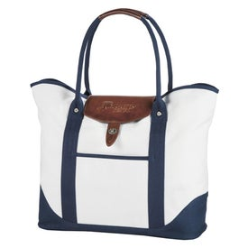 Personalized Cutter and Buck Legacy Cotton Boat Tote