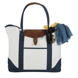 Imprinted Cutter and Buck Legacy Cotton Boat Tote