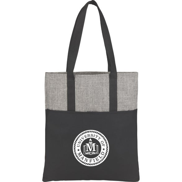 Graphite / Black Cycle Recycled Convention Tote