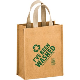 Cyclone Washable Kraft Paper Tote Bag