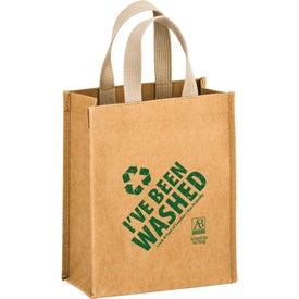 Cyclone Washable Kraft Paper Tote Bag