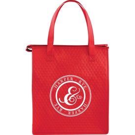 Deluxe Non-Woven Insulated Grocery Tote Bag