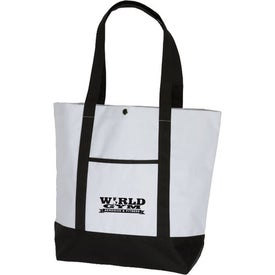 Customized Deluxe Pocket Fashion Tote