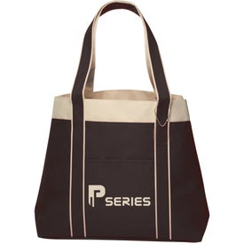 Donna Polyester Tote Bag