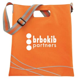 Double Up Tote Imprinted with Your Logo