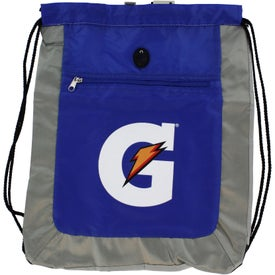 Double Square Drawstring Tote for Promotion
