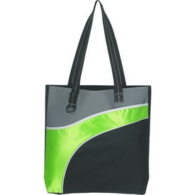 Printed Downtown Tote Bag