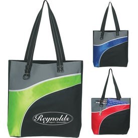 Branded Downtown Tote Bag