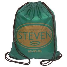 Drawstring Backsack Imprinted with Your Logo