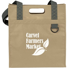 Dual Carry Tote Branded with Your Logo