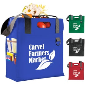 Dual Carry Tote with Your Logo