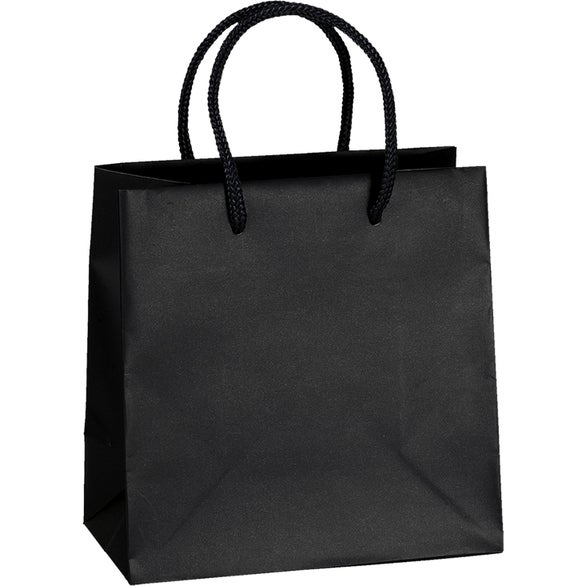 Black Dublin Laminated Eurotote Bag