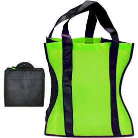Eco Friendly Fold Up Tote for Customization