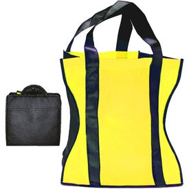 Imprinted Eco Friendly Fold Up Tote