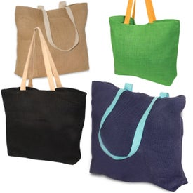 Advertising Eco-Green Jute Tote