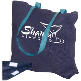 Eco-Green Jute Tote Branded with Your Logo