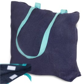 Eco-Green Jute Tote for your School