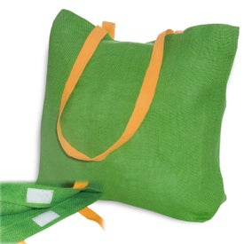 Eco-Green Jute Tote for Your Company