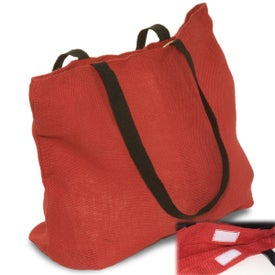 Eco-Green Jute Tote for Your Church