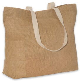 Eco-Green Jute Tote for Your Organization