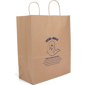 Eco Guard Seal-able Tote Bag (Ink Imprint)
