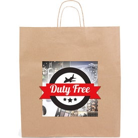 Eco Knight Tote Bag (Full Color Logo)