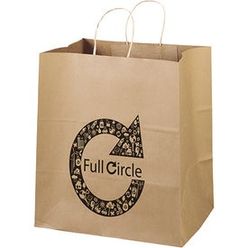 Eco Shopper Brute Tote Bags (Ink Imprint)