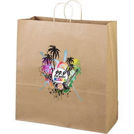 Eco Shopper Duke Tote Bag (Full Color)