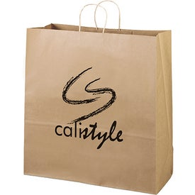 Eco Shopper Duke Tote Bags (Ink Imprint)