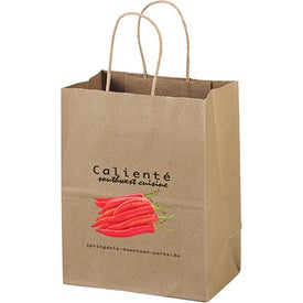 Eco Shopper Mini Tote Bag (Full Color)