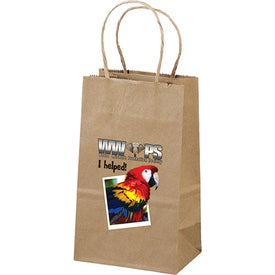Eco Shopper Pup Tote Bags (Full Color Logo)