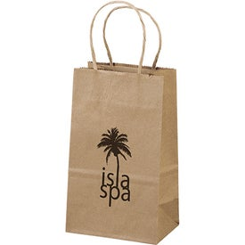 Eco Shopper Pup Tote Bag (Ink Imprint)