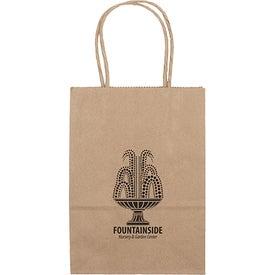 Eco Shopper Pup Tote Bag (Ink Imprint)