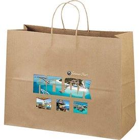 Eco Shopper Vogue Tote Bag (Full Color)
