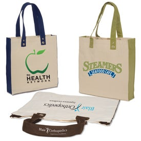 Eco-World Tote - 10 Oz. Cotton with Your Slogan