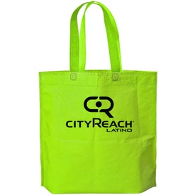 Econo Gusset Tote Bag with Your Slogan