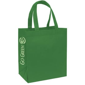 Economy Tote Bag with Your Slogan