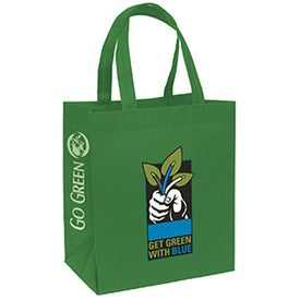 "Economy Tote Bag (13"" x 15"" x 8"", Full Color Logo)"