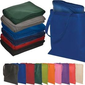 Personalized Econo Tote-A-Blanket Combo