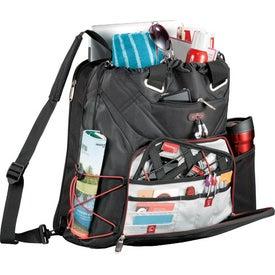 Printed Elleven Backpack Tote