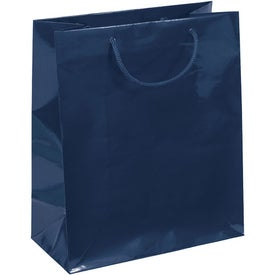 Emerald Gloss Eurotote Bag with Your Logo