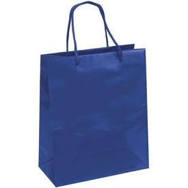 Emerald Gloss Eurotote Bag with Your Logo