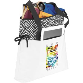 Personalized Empire Cinch Tablet Tote Bag