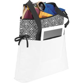 Empire Cinch Tablet Tote Bag with Your Logo