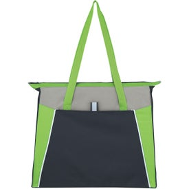 Branded Empire Shopping Tote Bag